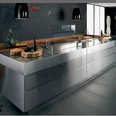 Cocinas minimalistas tienda de muebles de cocina en for Casas de muebles en sevilla
