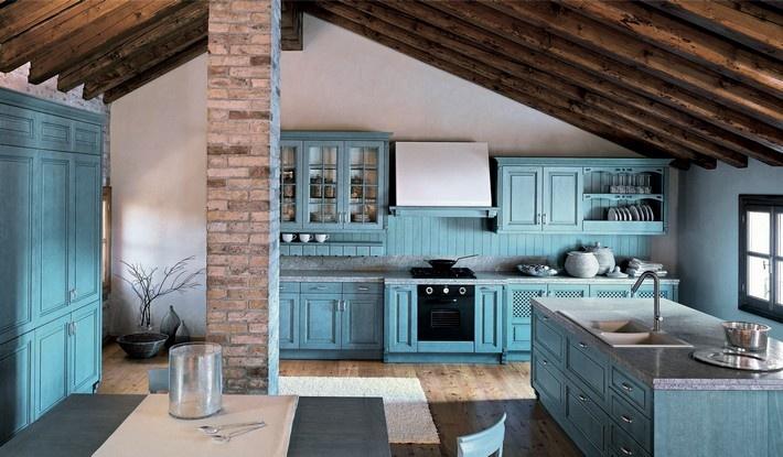 5 razones por las que elegir una cocina r stica di 39 como - Diseno de chimeneas rusticas ...