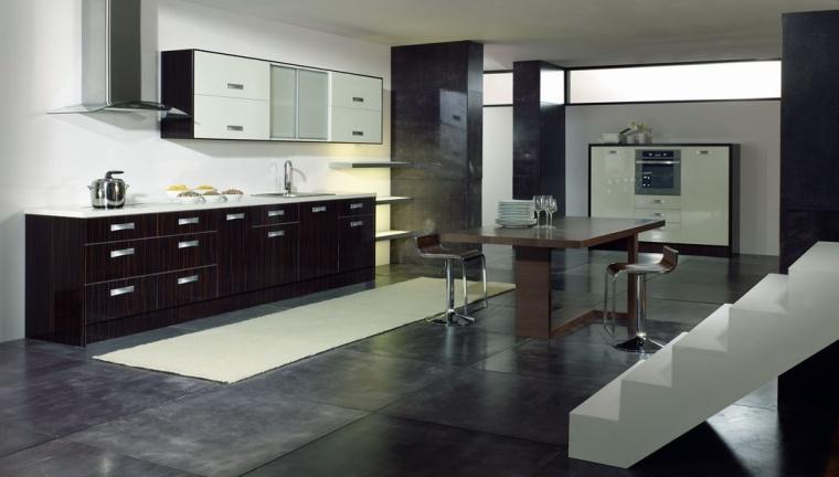 Cocinas modernas en sevilla di como cocinas for Cocinas colores combinados