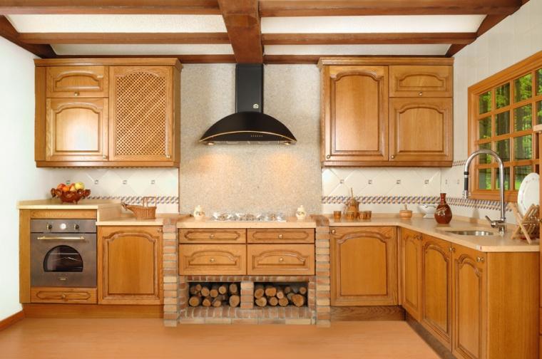 Cocinas rusticas en sevilla di como cocinas for Como decorar una cocina rustica pequena