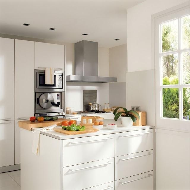 5 ideas geniales para tus cocinas más pequeñas - Tienda de Muebles ...