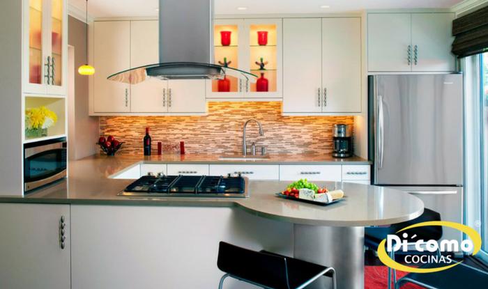 soluciones cocinas pequeñas Archivos - Tienda de Muebles de Cocina ...