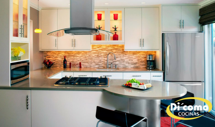 Cómo aprovechar al máximo una cocina pequeña - Tienda de Muebles de ...