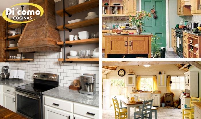 Consejos para crear una cocina rústica estilo \
