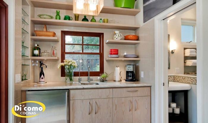 Cómo una cocina pequeña puede funcionar mejor