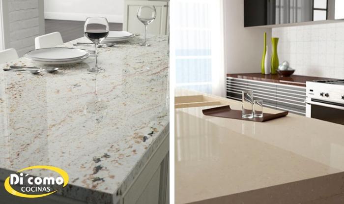 Cu l es la diferencia entre las encimeras de cuarzo y - Encimeras de marmol para cocinas ...