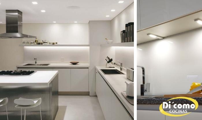 Iluminación bajo mueble, una idea brillante para su cocina