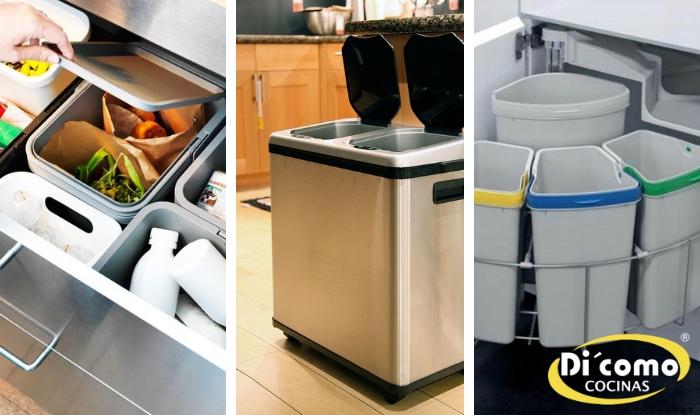 Hacer el reciclaje más fácil en la cocina